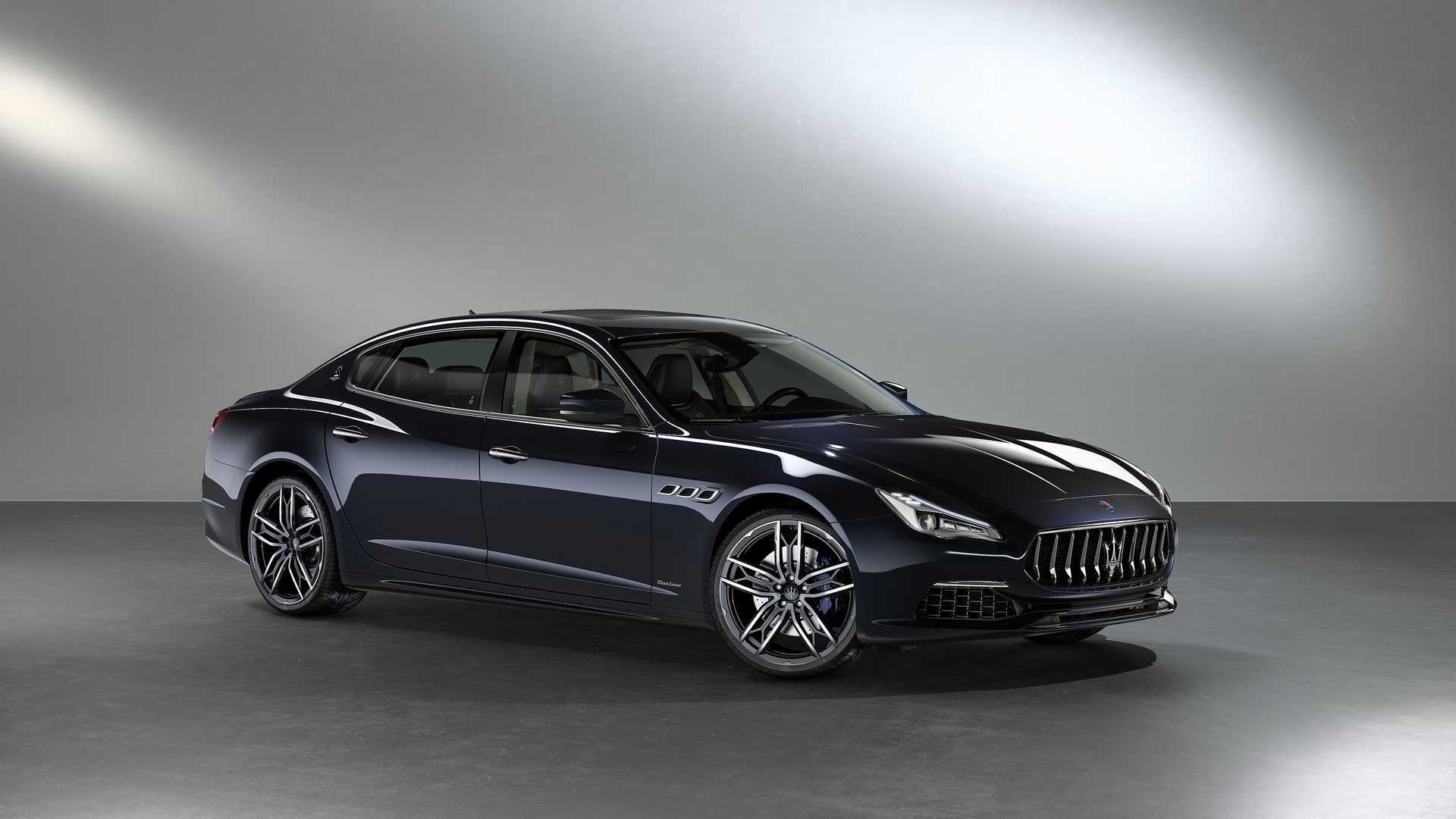 Maserati Quattroporte S Zegna Edition