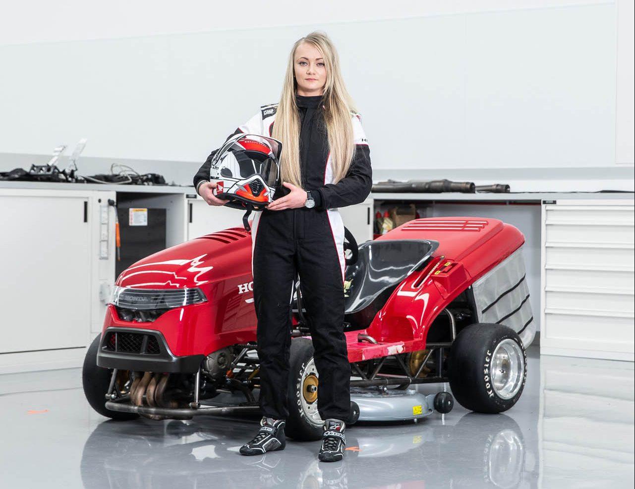Honda Mean Mover V2 met Jess Hawkins