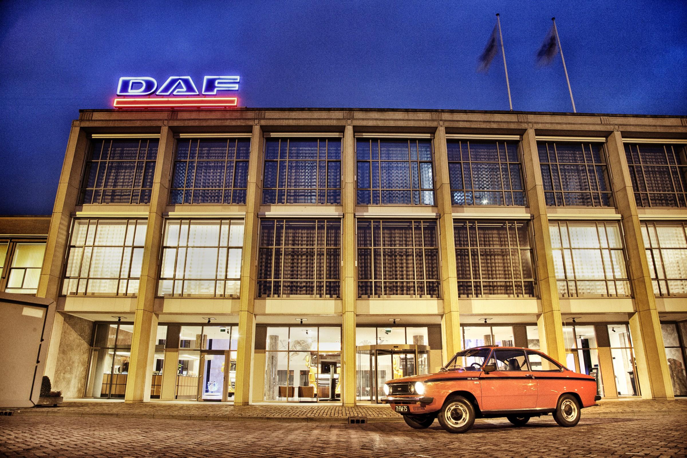 Daf 66 bij de Daf-fabriek in Eindhoven.