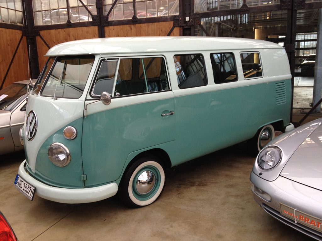Voor deze vroeger VW Transporters worden tegenwoordig serieuze bedragen betaald.
