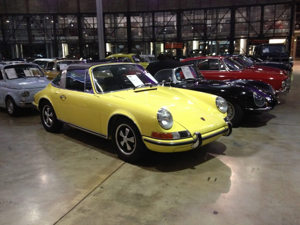 Mooie Porsche 911 Targa.