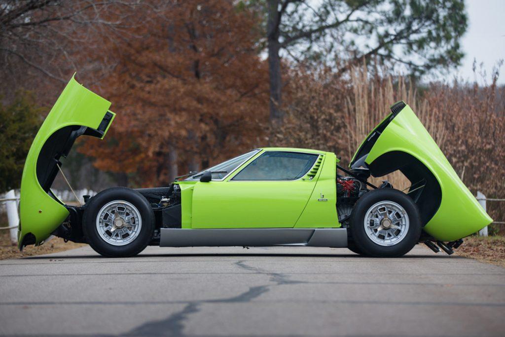 Lamborghini Miura P400S (1970)