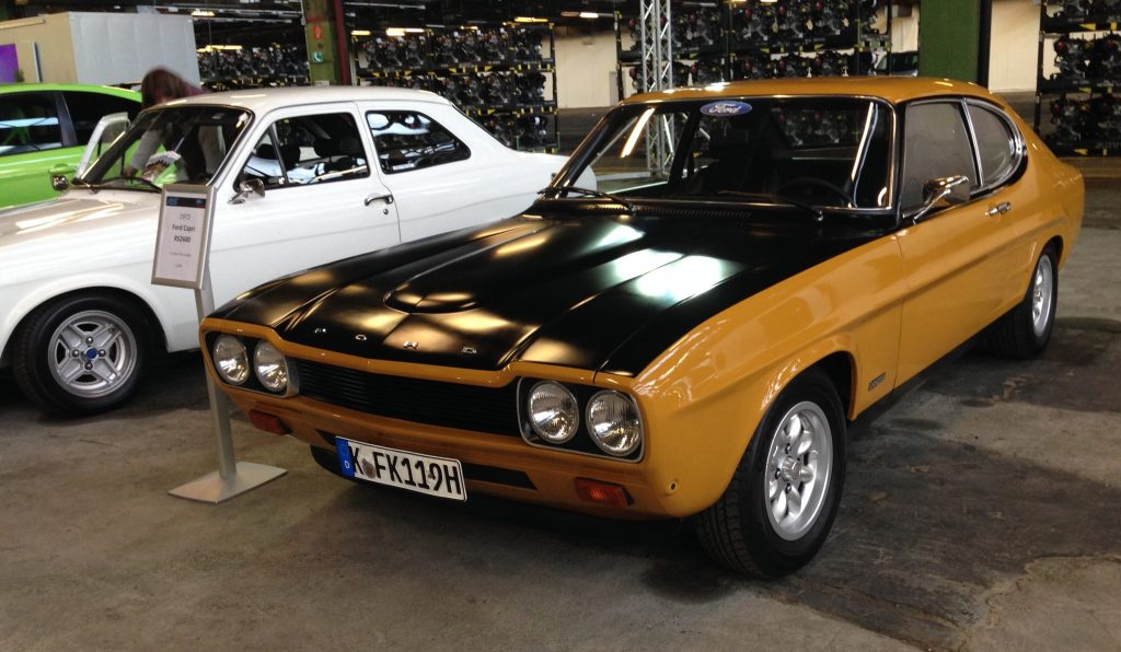 Ford Capri RS2600, 1973
