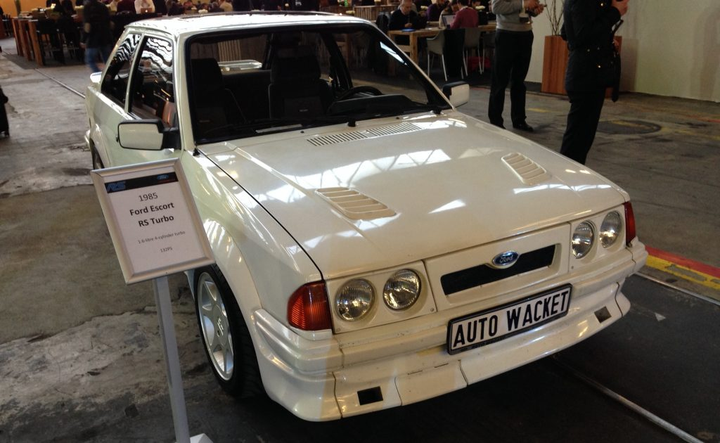 Ford Escort RS Turbo, 1985