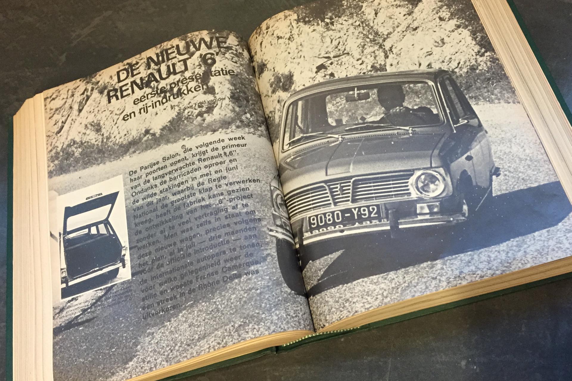 Rij-indruk Renault 6, Autovisie 39, 1968