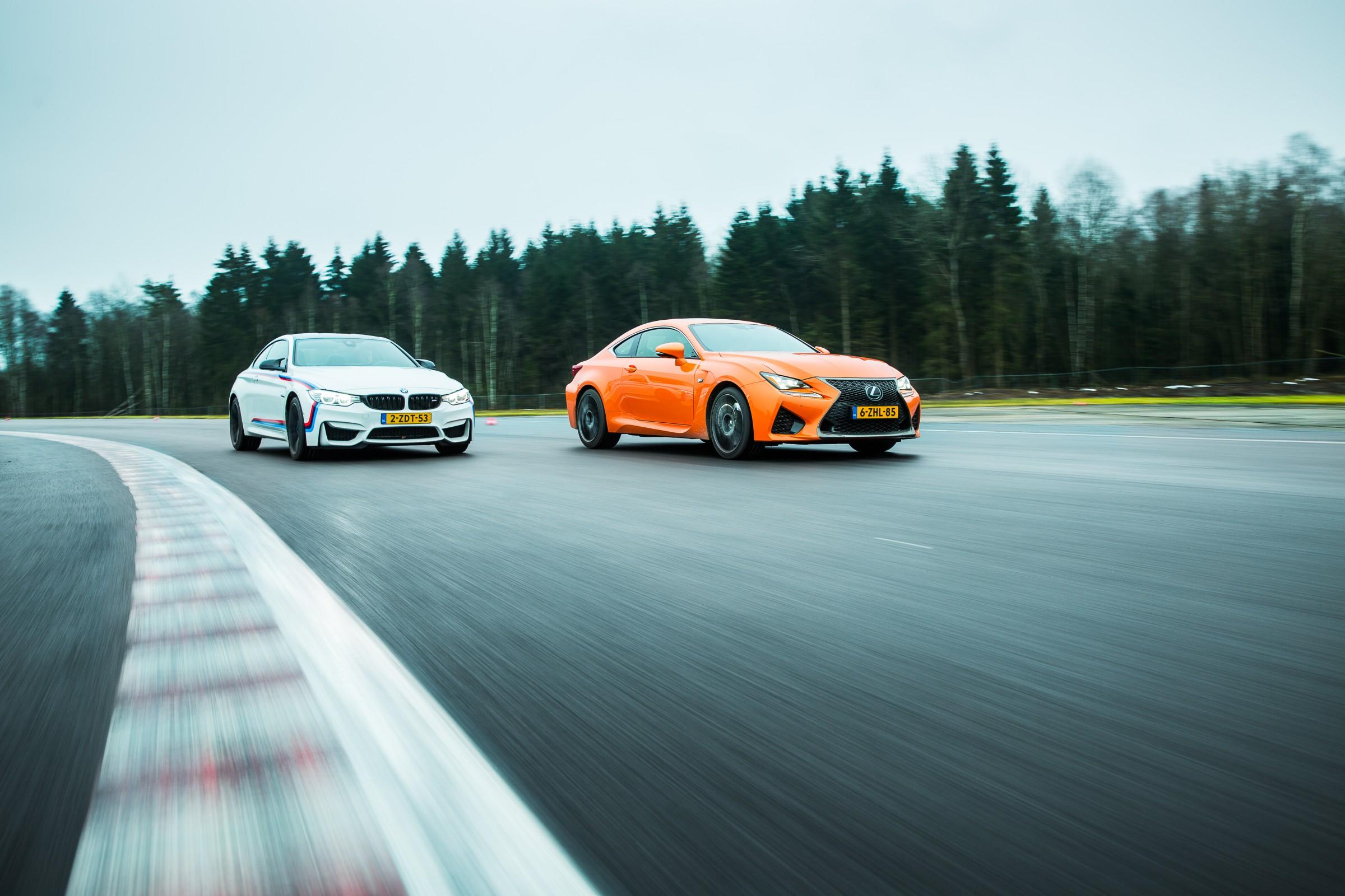 Repo Lexus RC F vs BMW M4-47