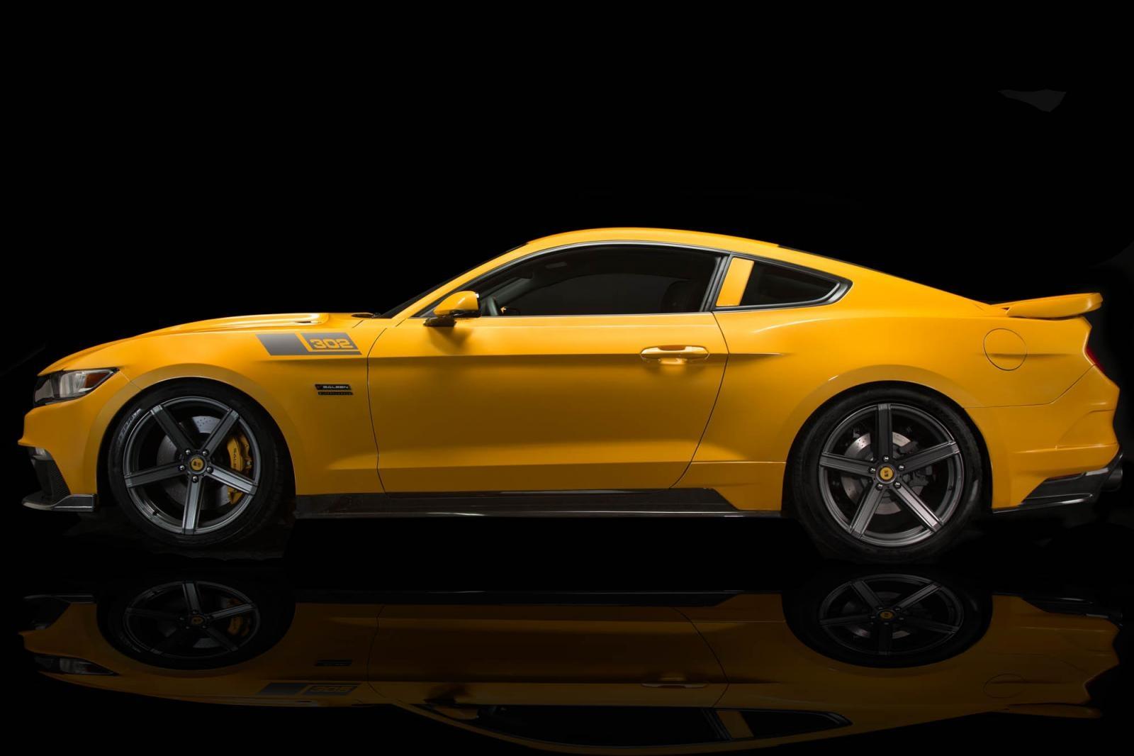 Saleen S302 Black Label Mustang 001