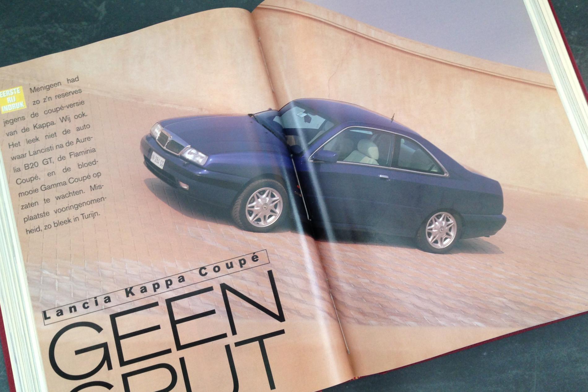 Rij-indruk Lancia Kappa Coupé, Autovisie 8, 1997