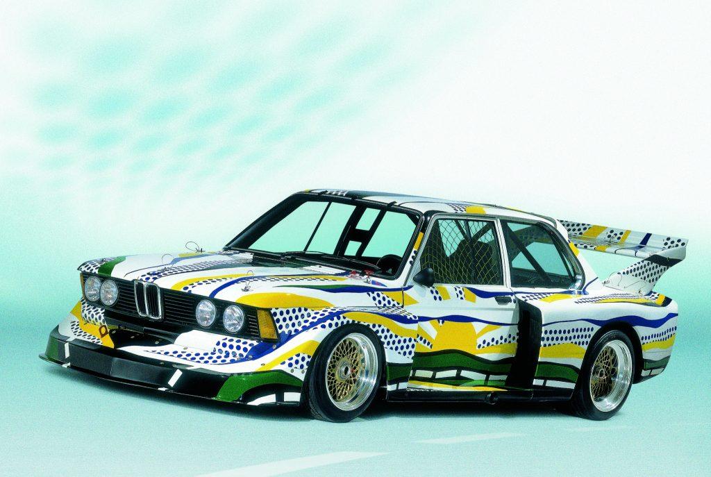 Roy Lichtenstein, Art Car 1977 - BMW 320i group 5 racing version