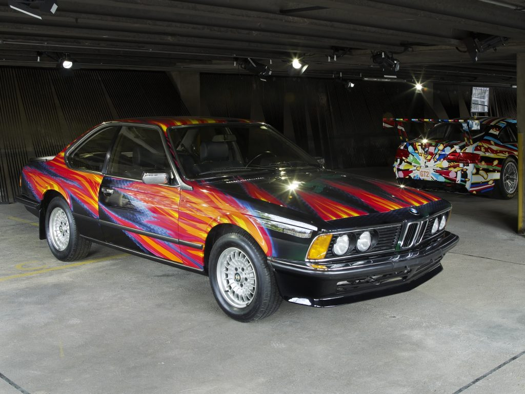 Ernst Fuchs, Art Car 1982 - BMW 635i CSi