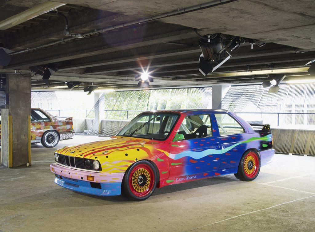 Ken Done, Art Car 1989 - BMW M3 group A