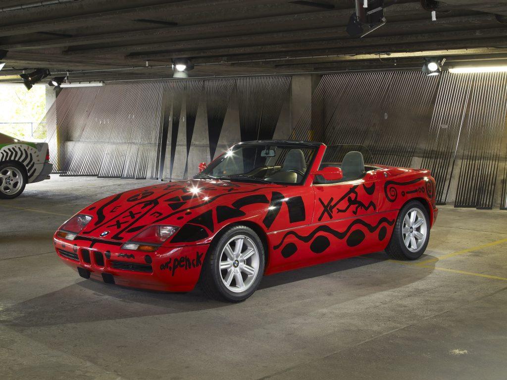 A. R. Penck, Art Car 1991 - BMW Z1