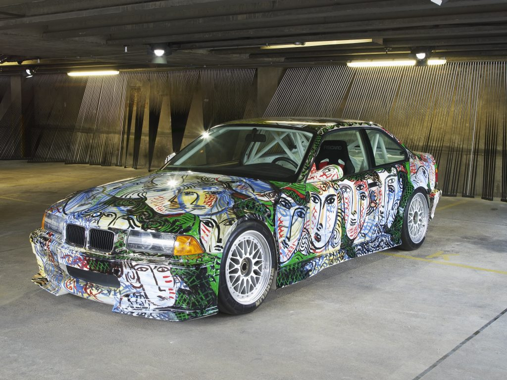 Sandro Chia, Art Car 1992 - BMW 3 Series saloon-car racing prototype
