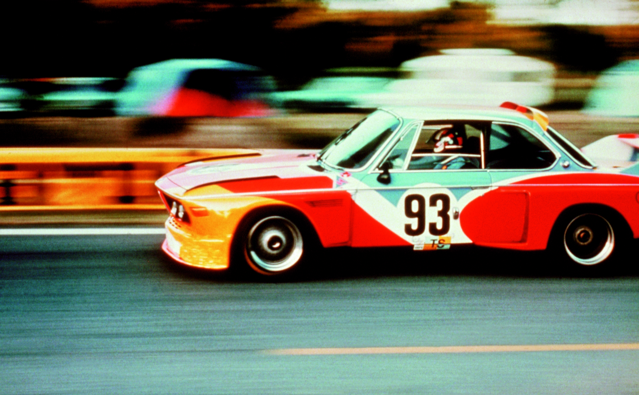 BMW Alexander Calder, Art Car, 1975 - BMW 3.0 CSL
