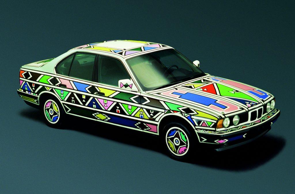 Esther Mahlangu, Art Car, 1991 - BMW 525i