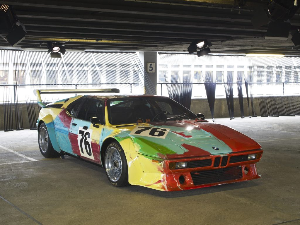 Andy Warhol, Art Car 1979 - BMW M1 group 4 racing version