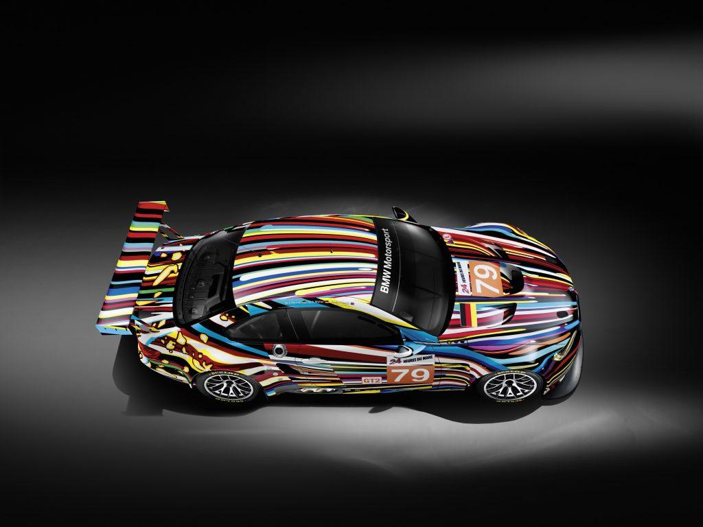 Jeff Koons, Art Car 2010 - BMW M3 GT2