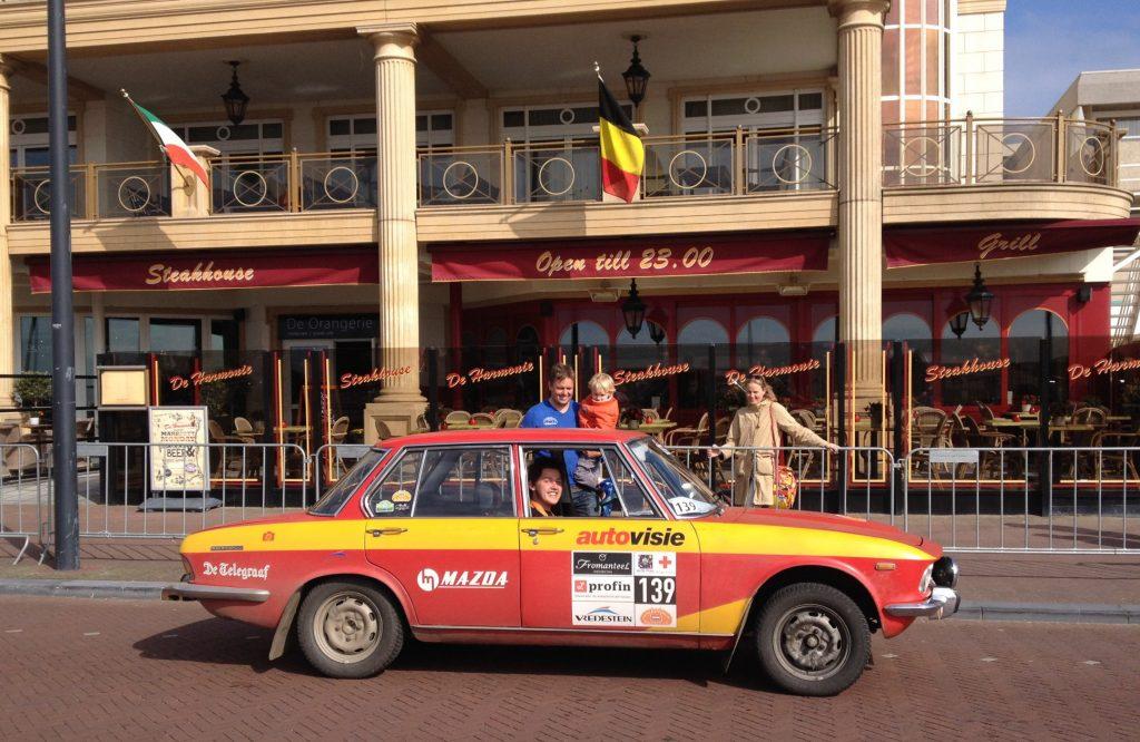 Ook team Autovisie met Olof van Joolen en Jerome Wassenaar haalde de finish.