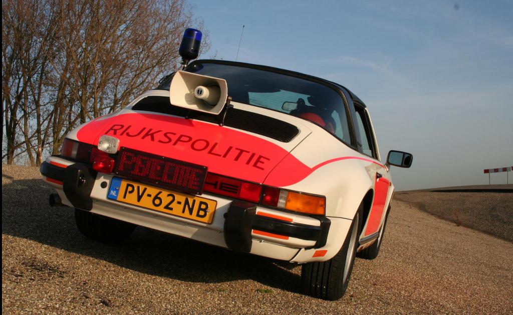 Porsche rijkspolitie
