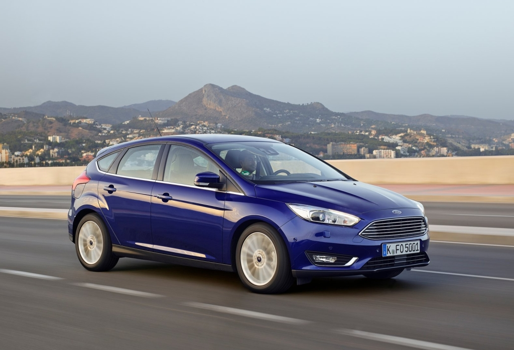 Autoverkopen Ford Focus