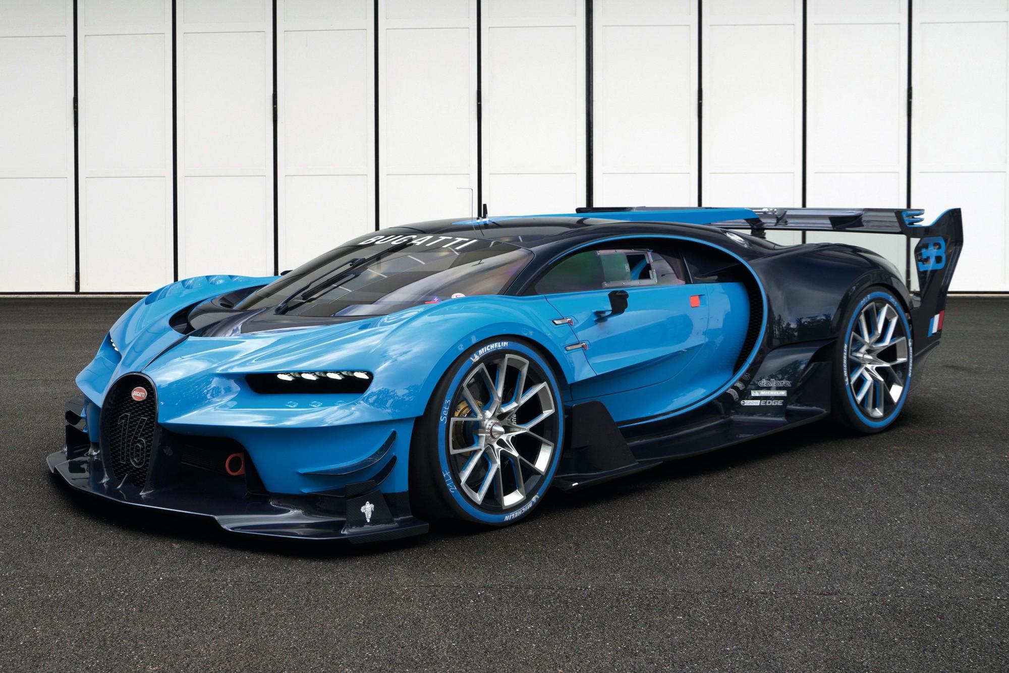 3 Bugatti