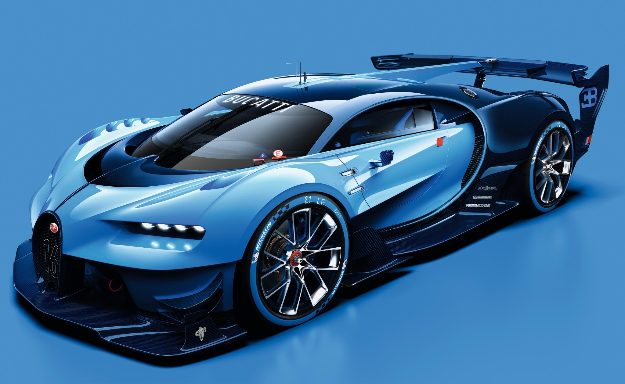 Bugatti Vision Gran Turismo 001