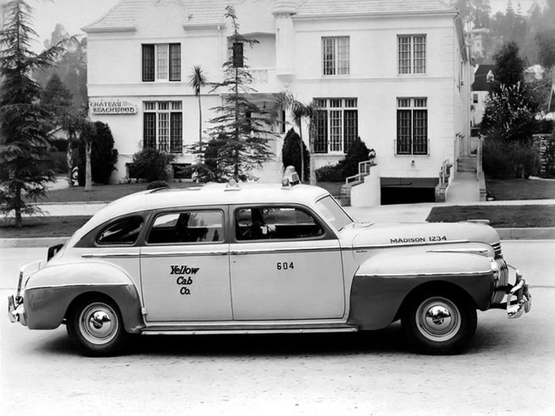 TAXI DeSoto Deluxe Taxi Cab 1948