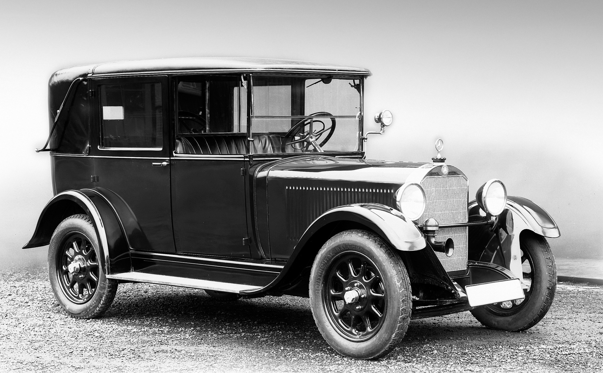 TAXI Mercedes-Benz 8-38 HP Landaulet Taxi 1926