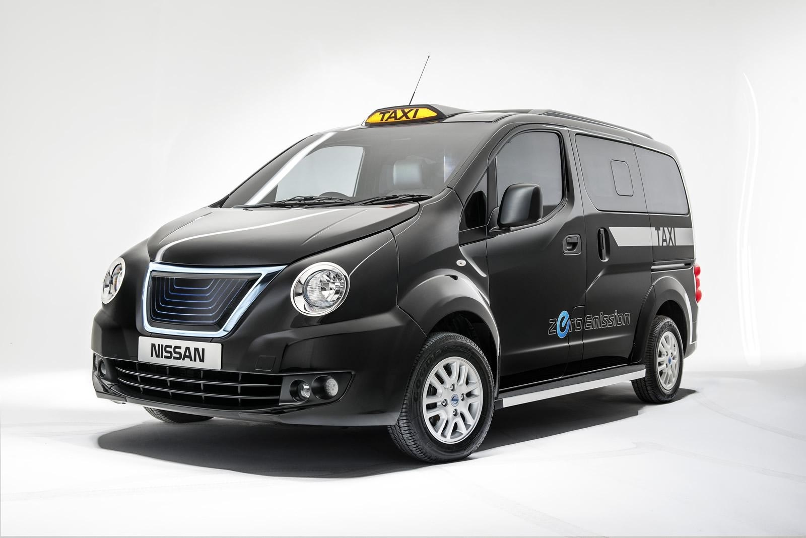 TAXI Nissan Londen Taxi