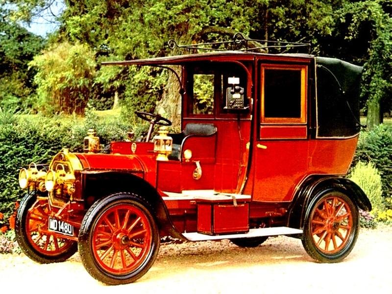 TAXI Unic 1214 HP Taxi 1908