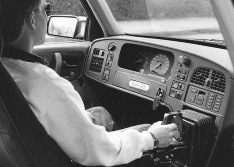 Saab joystick