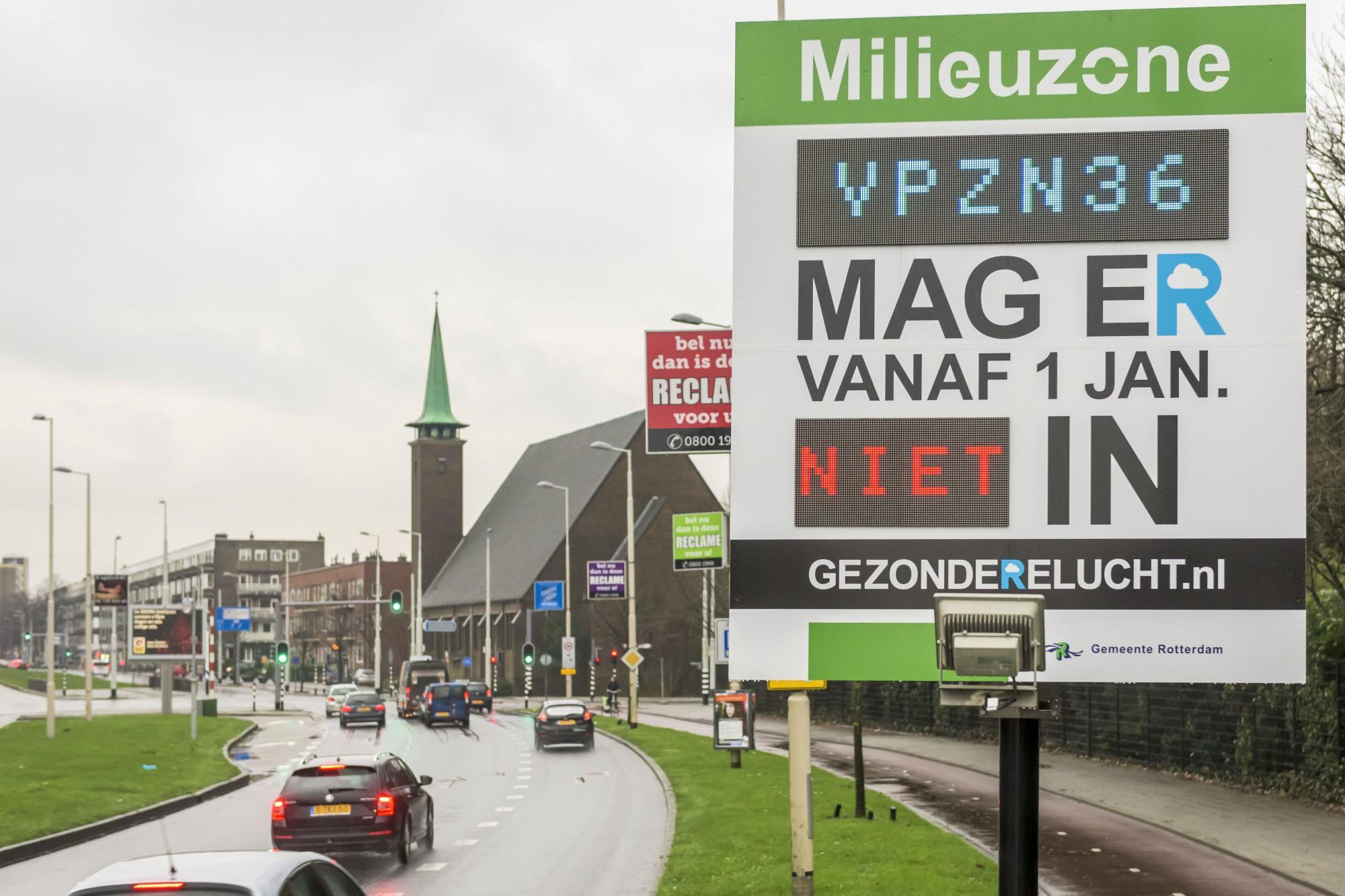 Milieuzone Rotterdam