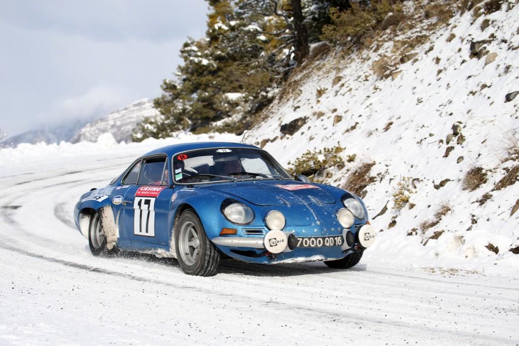 De Renault-Alpine A110 1600 won de Rallye Monte-Carlo in 1971. Foto: Automobile Club de Monaco.