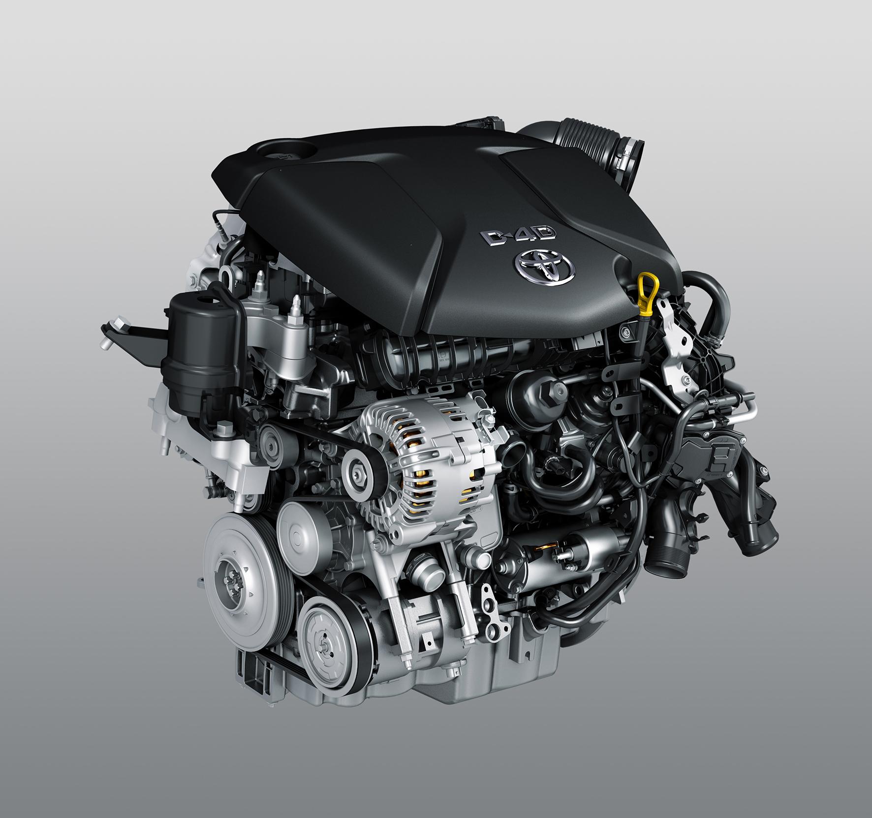 De 1.6 D-4D-F van Toyota komt van BMW.