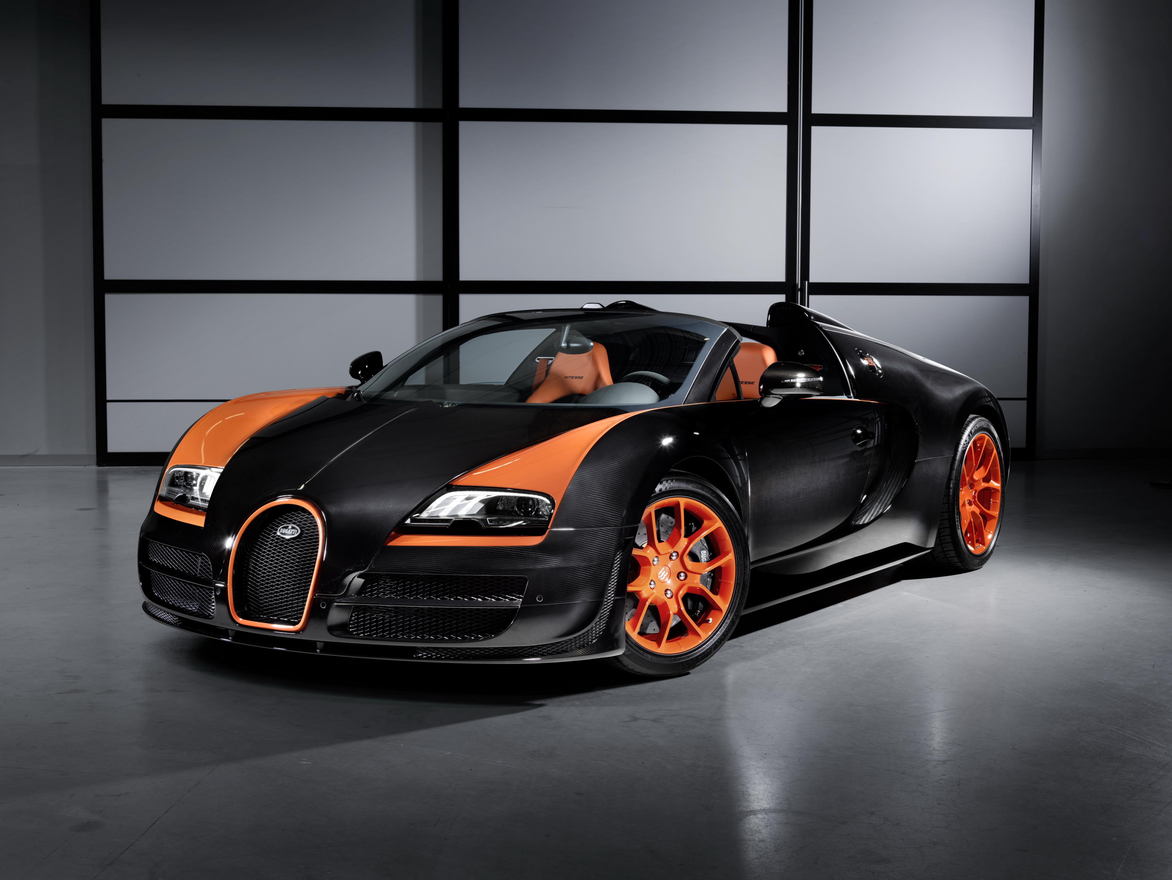 Bugatti Veyron Tesla killer