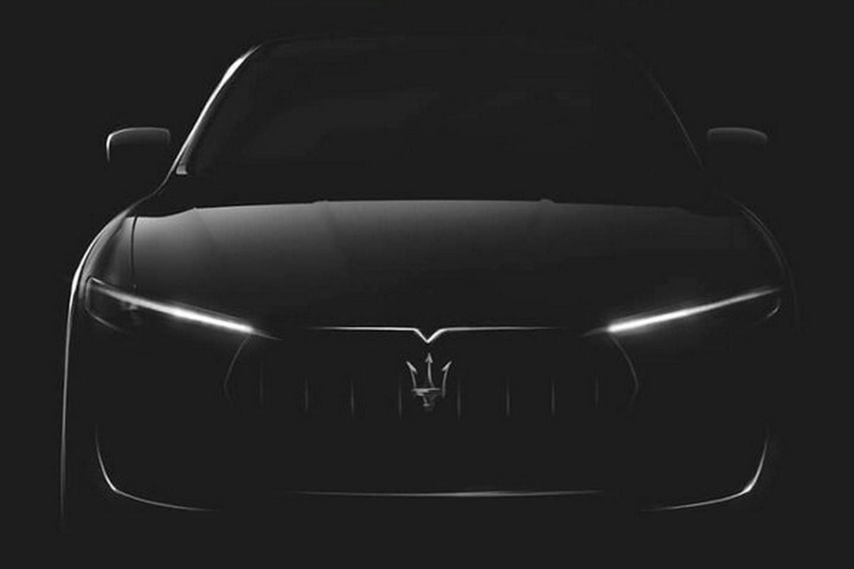 Maserati Levante Teaser. Foto: Maserati