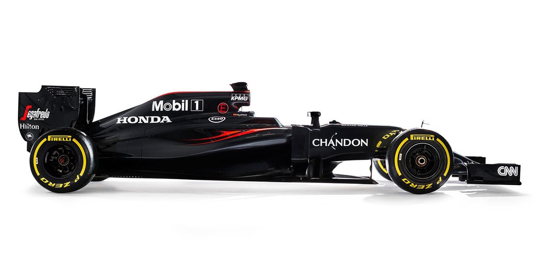McLaren-Honda MP4-31. Foto: McLaren-Honda