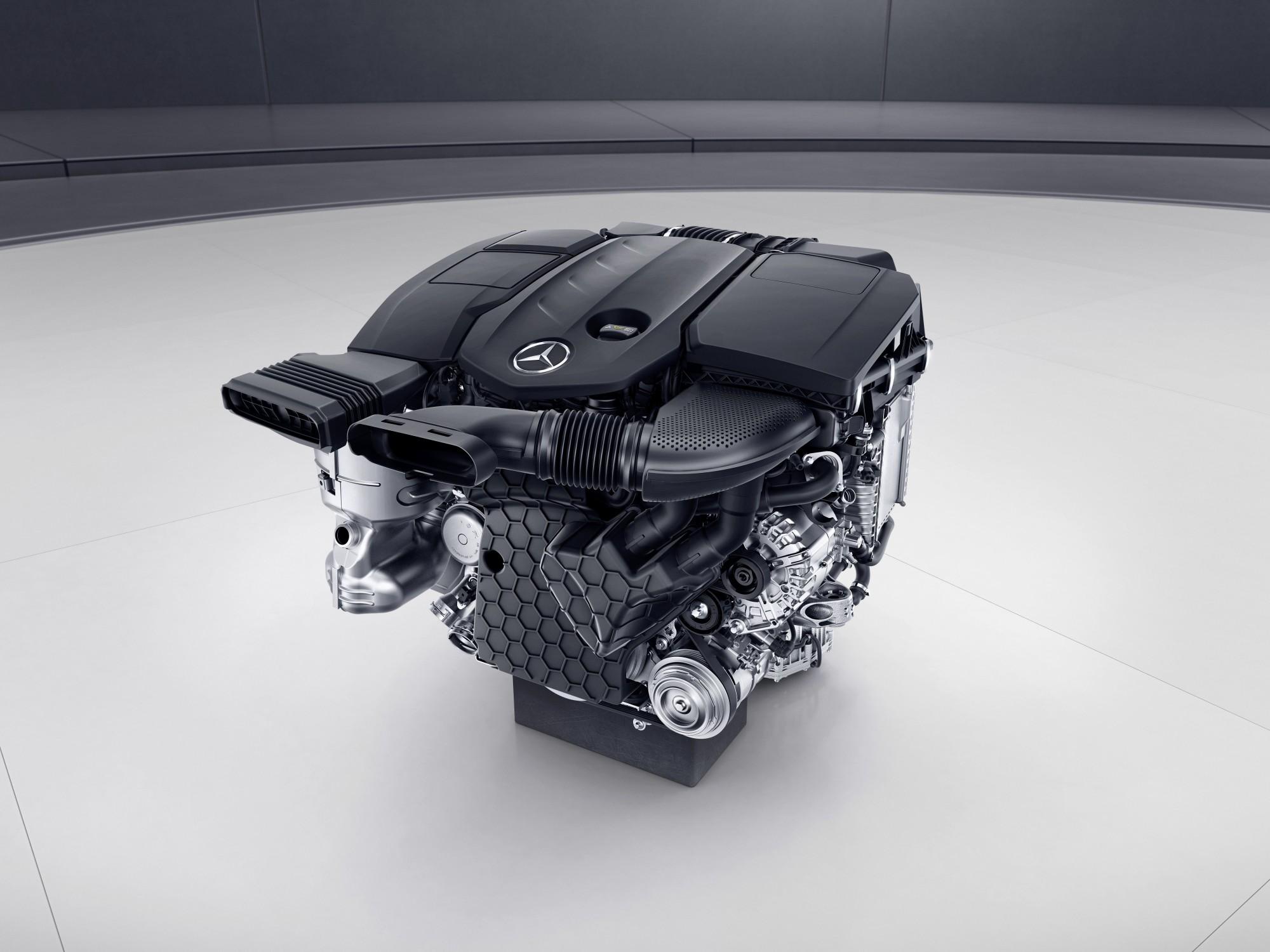 De nieuwe aluminium dieselmotor van Mercedes-Benz heet OM 654.