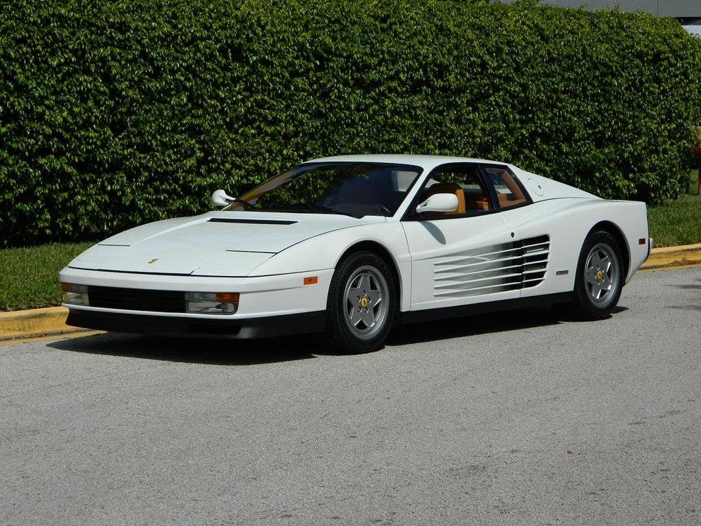 De Ferrari Testarossa van Jordan Belfort staat te koop. Foto: Monegasque Classics Sarl