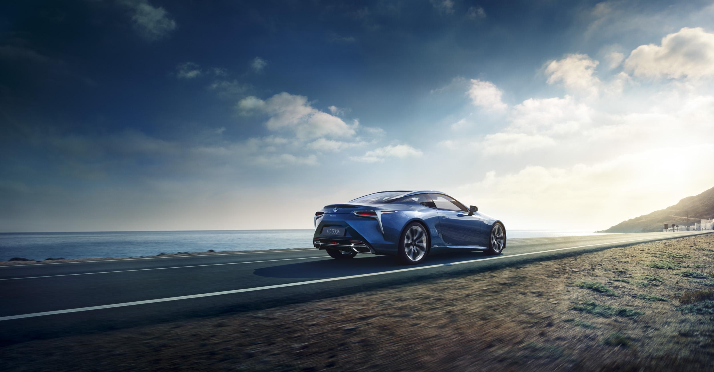 De Lexus LC 500h wordt de tweede hybride coupé van het merk. Foto: Lexus