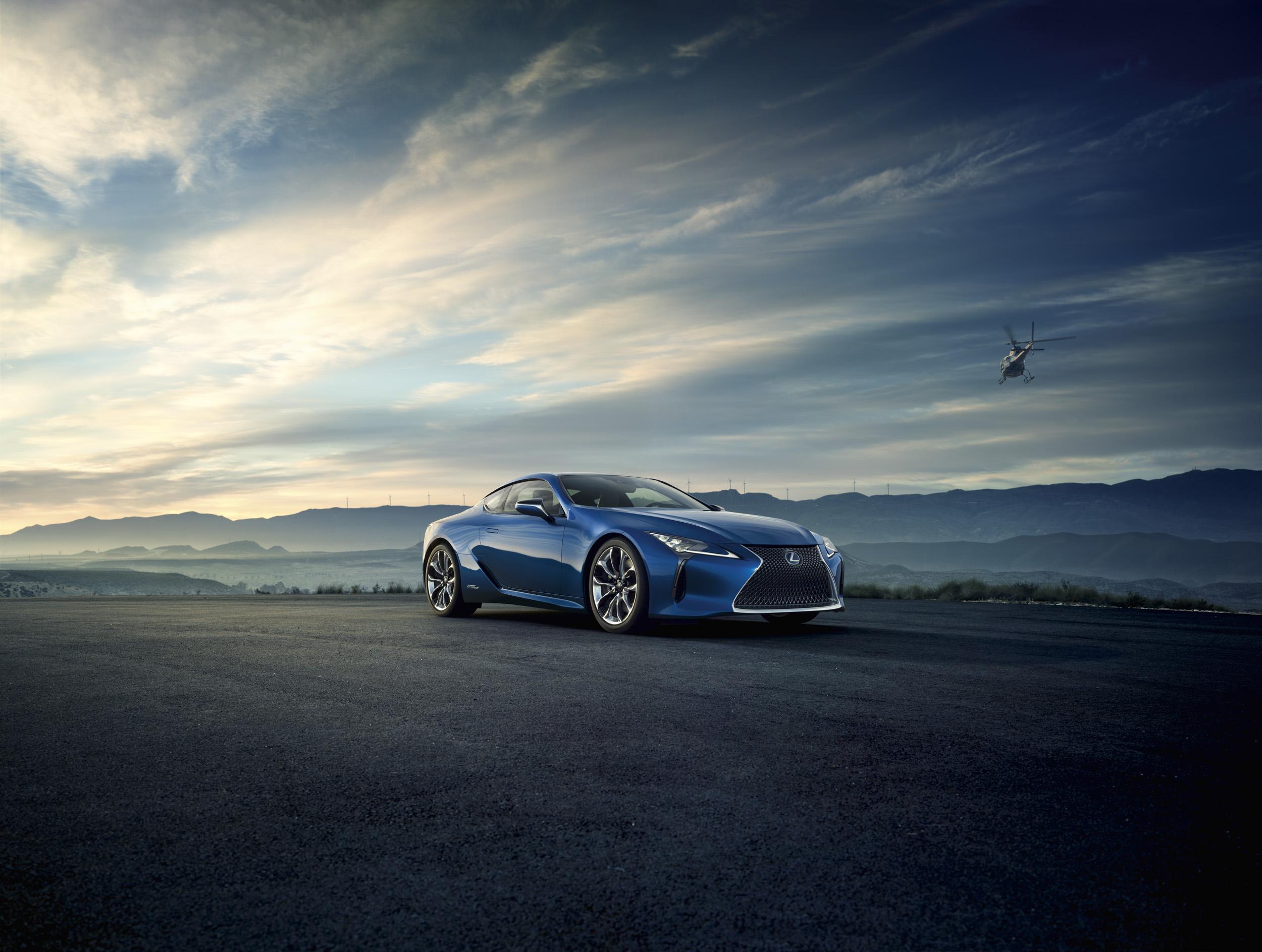 Krijgt hij 500 pk, deze Lexus LC 500h? Foto: Lexus