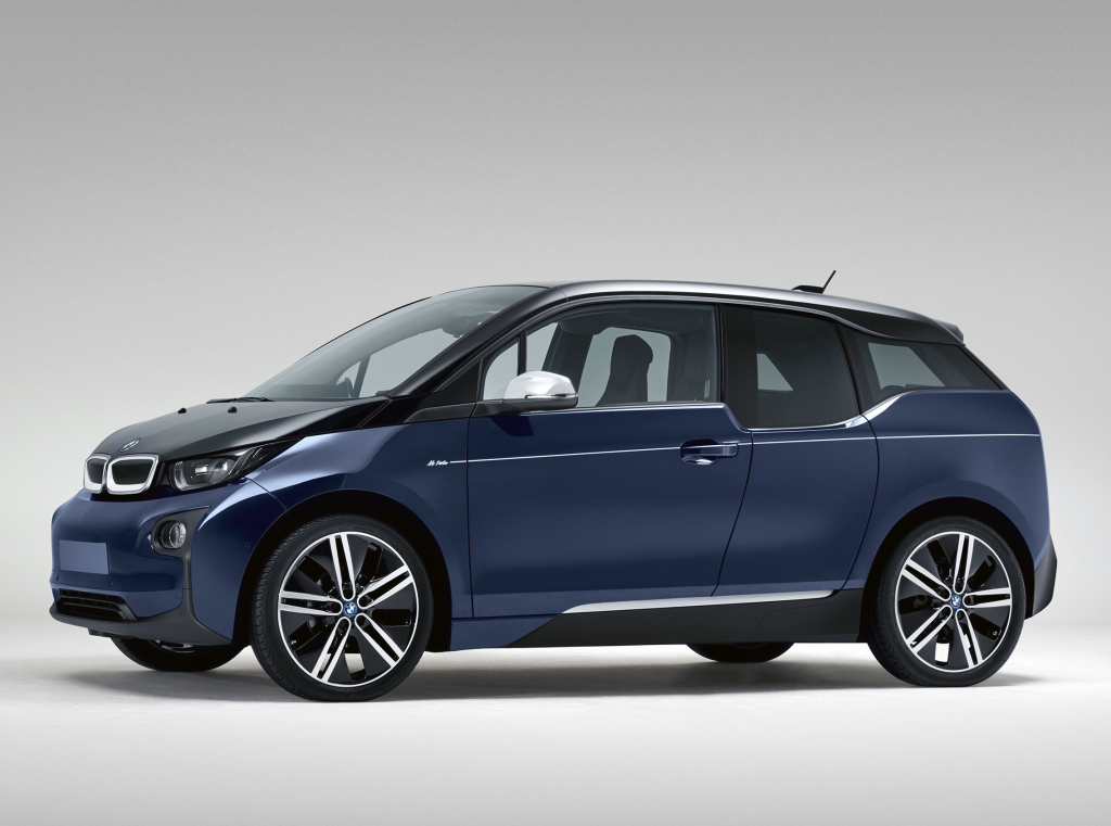 BMW i3 range