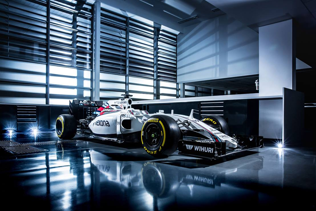 De Williams FW38. Foto: Williams