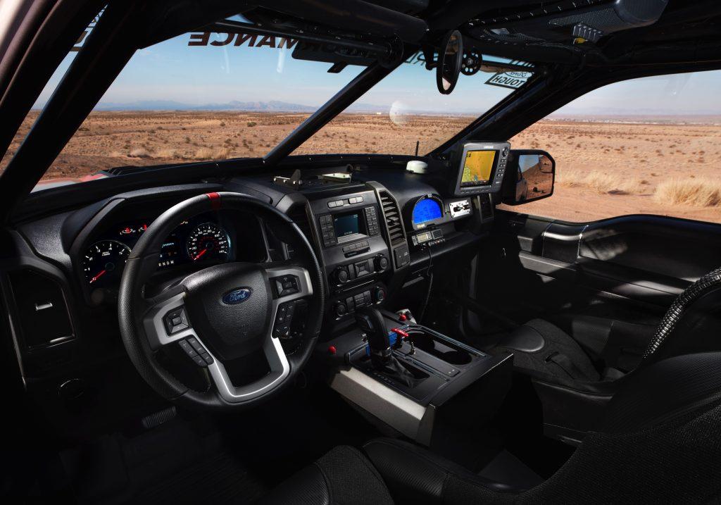 Ford F-150 Raptor interieur