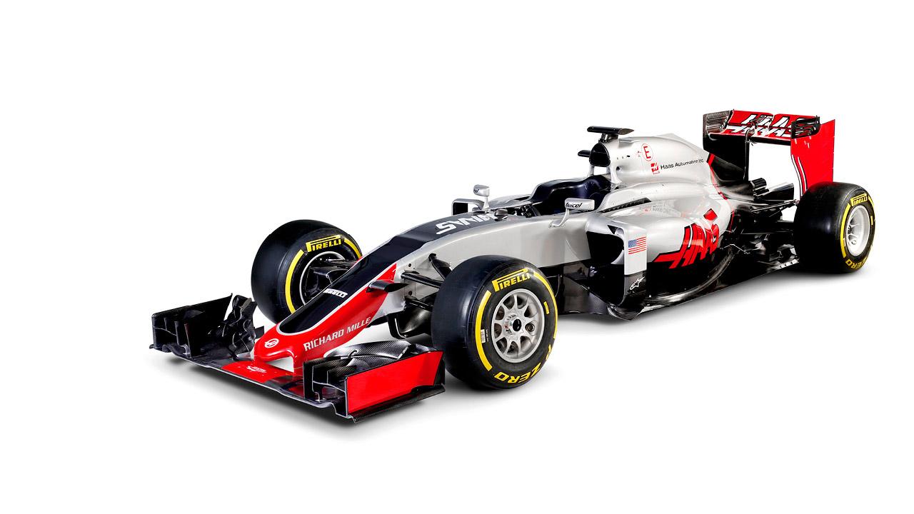 Haas VF-16. Foto: Haas