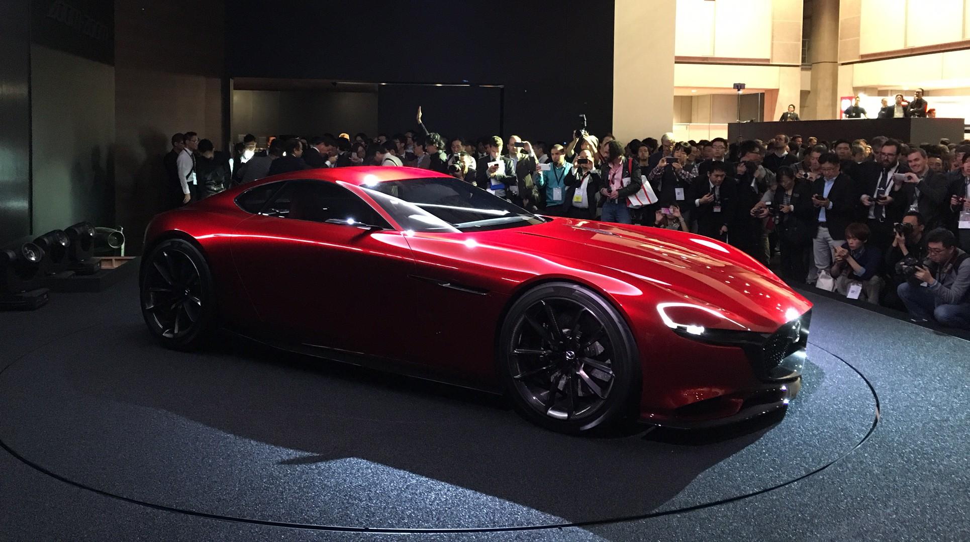 Mazda RX-Vision in Tokyo. Foto: Wouter Spanjaart