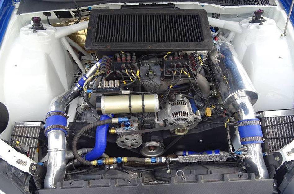 Compleet gereviseerd, dit motorblok. Foto: Rallysales.com