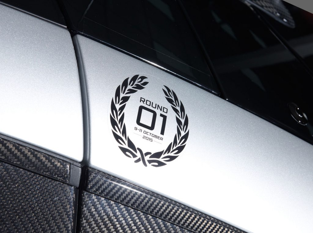 Deze badge krijgen alleen deelnemers aan het eerste McLaren P1 GTR Driver Programme event. Foto: McLaren