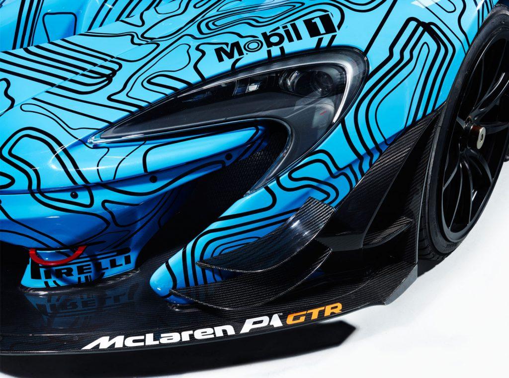 660 kg downforce bij 240 km/h. Zo'n 10% meer dan bij een normale P1. Foto: McLaren