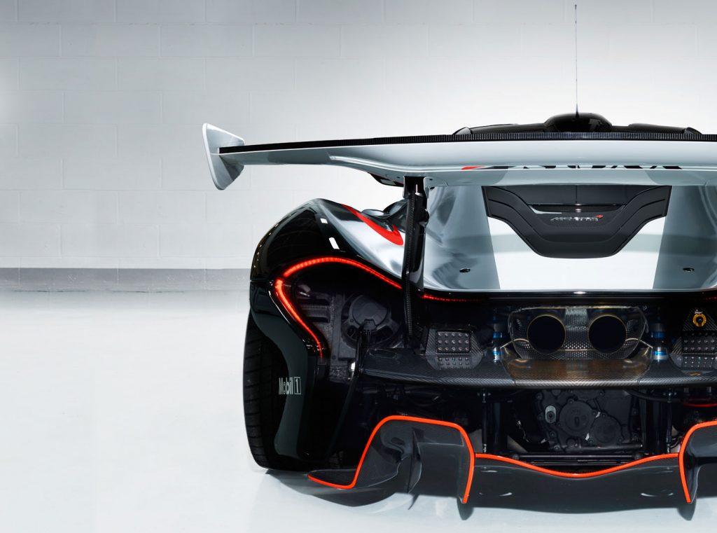 1.000 pk produceert de 3,8 liter V8 in combinatie met de elektromotor. Foto: McLaren